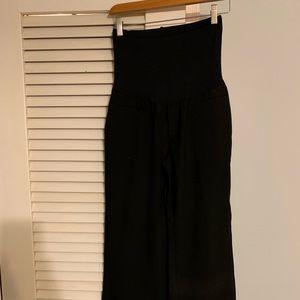 Gap maternity dress slacks with full panel